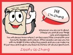 Meet Zippity Up Zhang